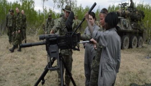 Inside the Canadian military journalism course