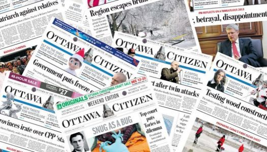 3 laid off at the Ottawa Citizen