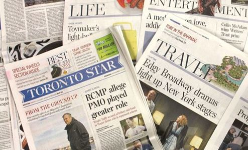 Updated: Union concerned Toronto Star management is creating a two-tiered pay system