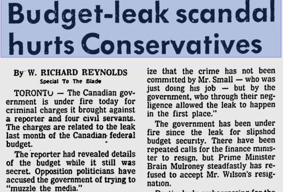 This week in Canadian media history: Global TV leaks the