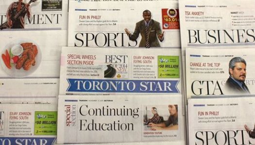 "Toronto Star hiring 8 digital journalists at ""market-based salaries"""