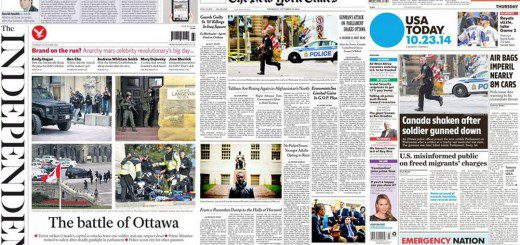 Around the world: Canadian coverage of Ottawa shooting praised by international media
