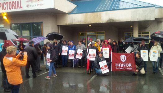 Cowichan News Leader strike drags on