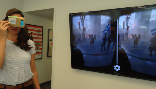 Journalists recreate real life with virtual reality
