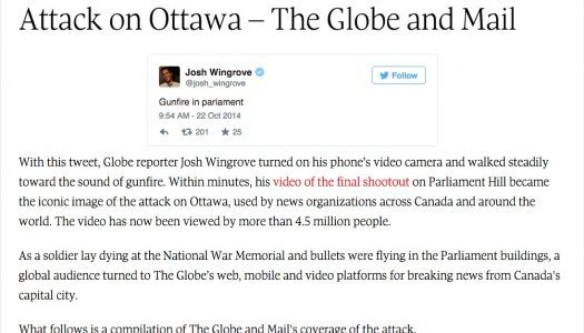 The Globe wins at 2015 Online Journalism Awards