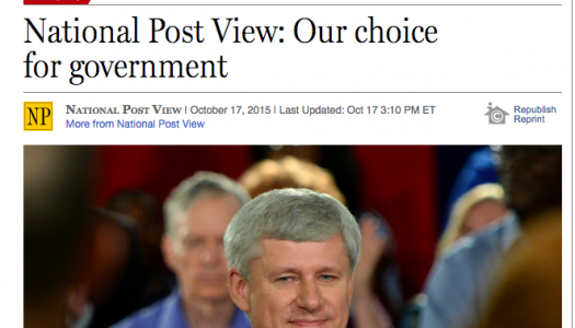 Conservative endorsements fly in the face of freedom of expression