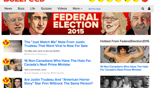 How BuzzFeed Canada covered the election, one gif at a time