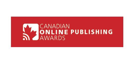 Winners of Canadian Online Publishing Awards announced