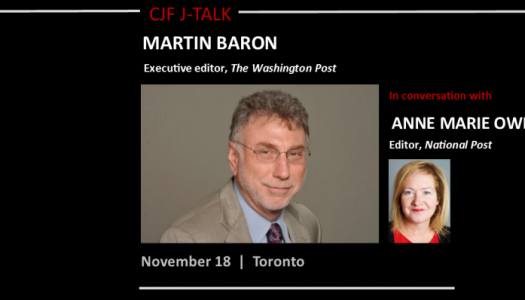 Martin Baron in conversation with Anne Marie Owens