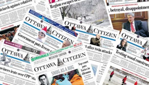 Memo: Ottawa Citizen editorial board members announce departure