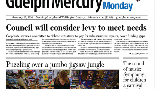 Guelph Mercury ends print edition