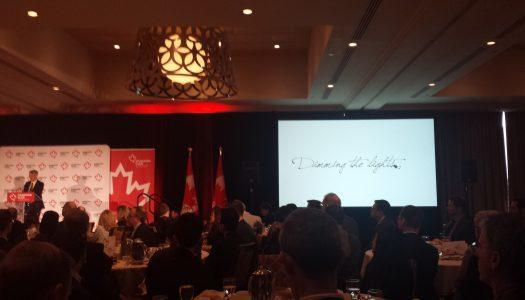 Jean-Pierre Blais at Canadian Club Toronto