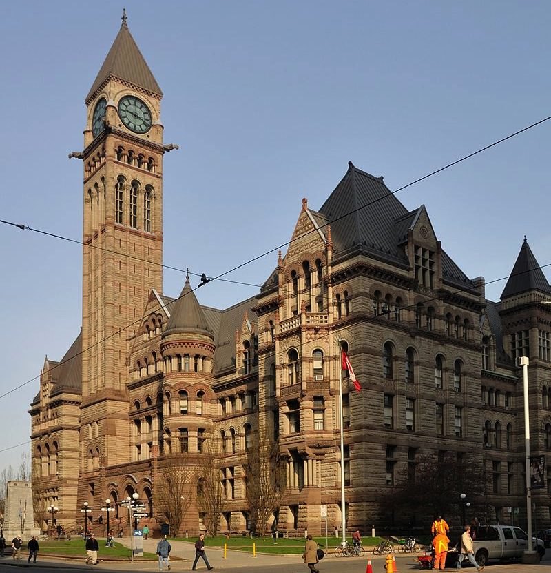 Toronto's Old City Hall court, where the Ghomeshi trial is taking place this week. Photo courtesy Taxiarchos228/Wikipedia creative commons.