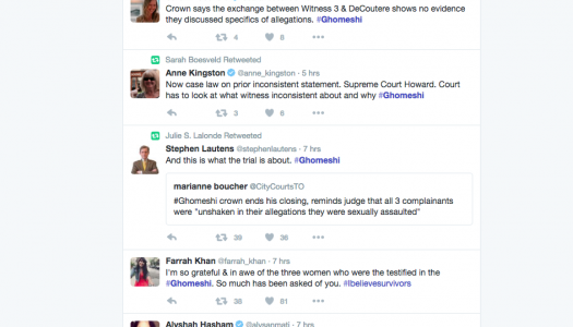 Live-tweeting the Ghomeshi trial demystifies court process