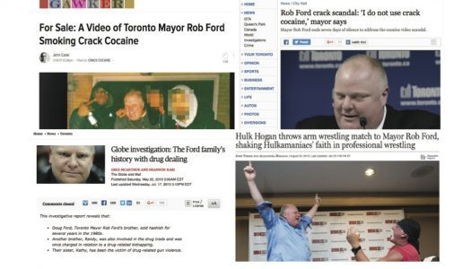 Rob Ford and the media: a look back