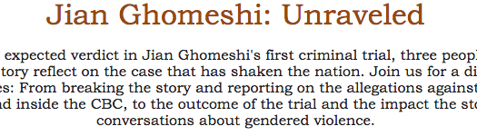 Jian Ghomeshi: Unravelled