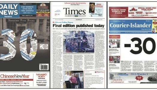 Why does Black Press buy and then close small BC papers?
