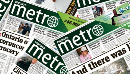 Seven of Metro Toronto's unionized editorial staff were laid off in March