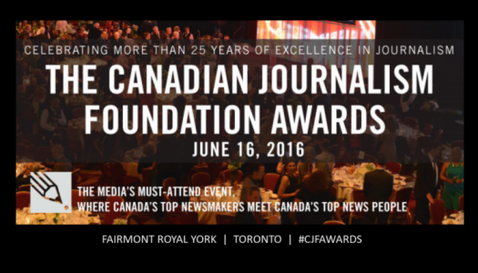 2016 CJF Awards to be presented June 16