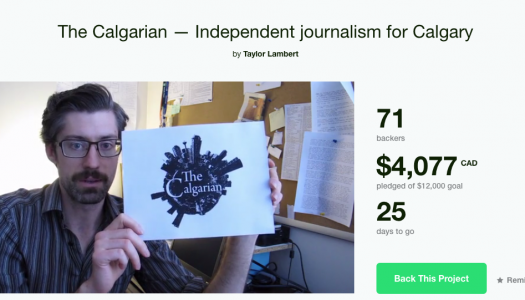 New Calgary media outlet hopes for a jumpstart with Kickstarter