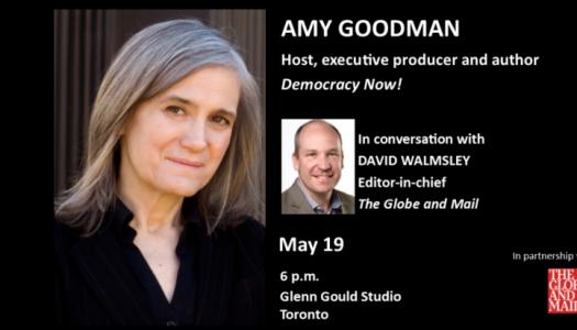 CJF J-Talk: Amy Goodman with David Walmsley