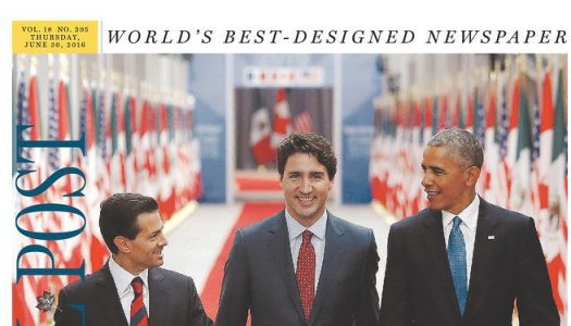 Canadian front pages after Three Amigos Summit, P.K. Subban trade and Canada Day weekend