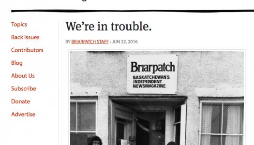 Briarpatch magazine needs $15,000 to keep publishing
