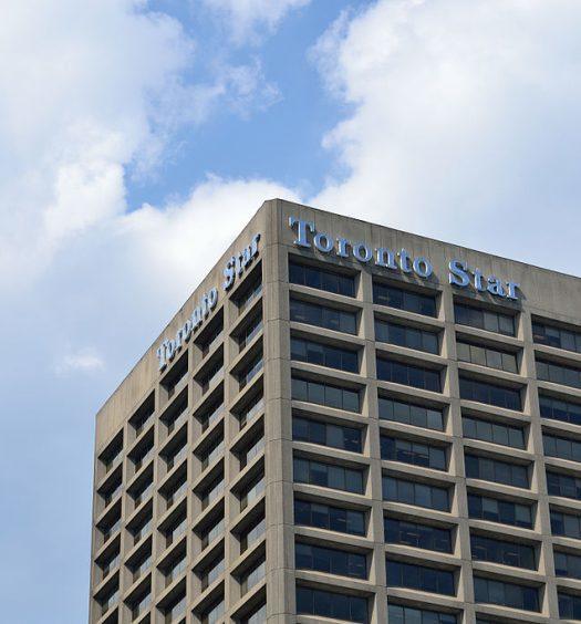 Torstar and other media companies have been struggling in recent years as consumers and advertisers shift towards online and digital alternatives and away from conventional newspapers, television and radio. Photo courtesy Raysonho/Wikimedia commons.