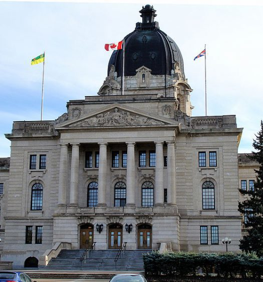 The Saskatchewan Legislative Building. Saskatchewan justice minister Gordon Wyant introduced amendments to the Local Authorities Freedom of Information and Privacy Protection Act to include police services. Photo courtesy Daryl Mitchell/CC 2.0 Generic.