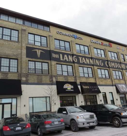 The Lang Tanning Building in Kitchener, Ontario, where Postmedia's new digital development lab will be housed. Image courtesy lumei/CC NoDerivs 2.0 Generic.