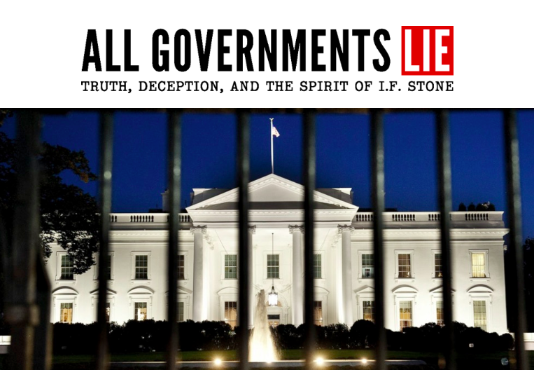All Governments Lie, directed by by Canadian journalist filmmaker Fred Peabody, has its world premiere at TIFF on Sept. 9.  Image courtesy White Pine Pictures.