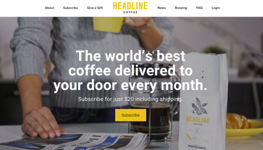 Finding innovation in a coffee and a morning newspaper