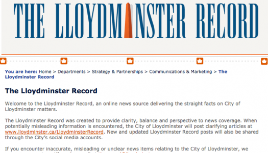 Emails reveal City of Lloydminster staff pushed Record launch in advance of possible local media closures