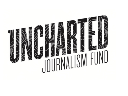 "Uncharted Journalism Fund will provide $3,000 whole or partial grants four times a year, with the aim of supporting ""adventurous"" storytelling projects. Screenshot by J-Source."