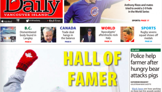 Black Press launches a new Vancouver Island wide daily newspaper