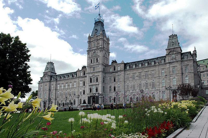 The Parliament Building of Quebec. Photo courtesy dszpiro/CC BY 2.0.