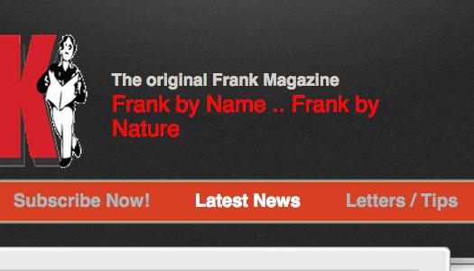 Publication ban charge against Frank dismissed