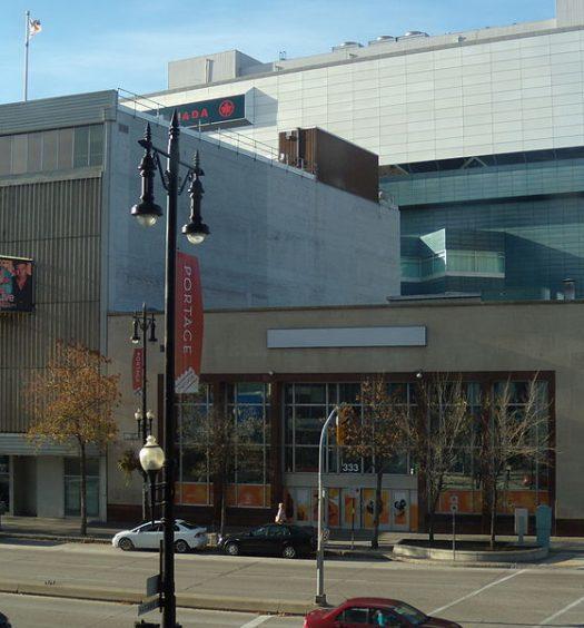 APTN's Winnipeg headquarters. WikiCommons image by ccyyree.