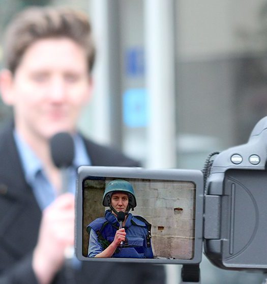 War correspondents face a lack of mental health resources. Photo courtesy Victoria Walton.