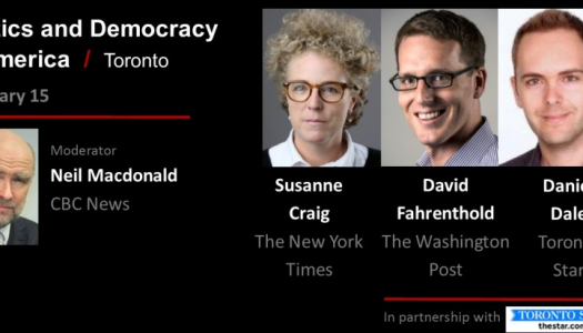 Live Blog: Politics and Democracy in America