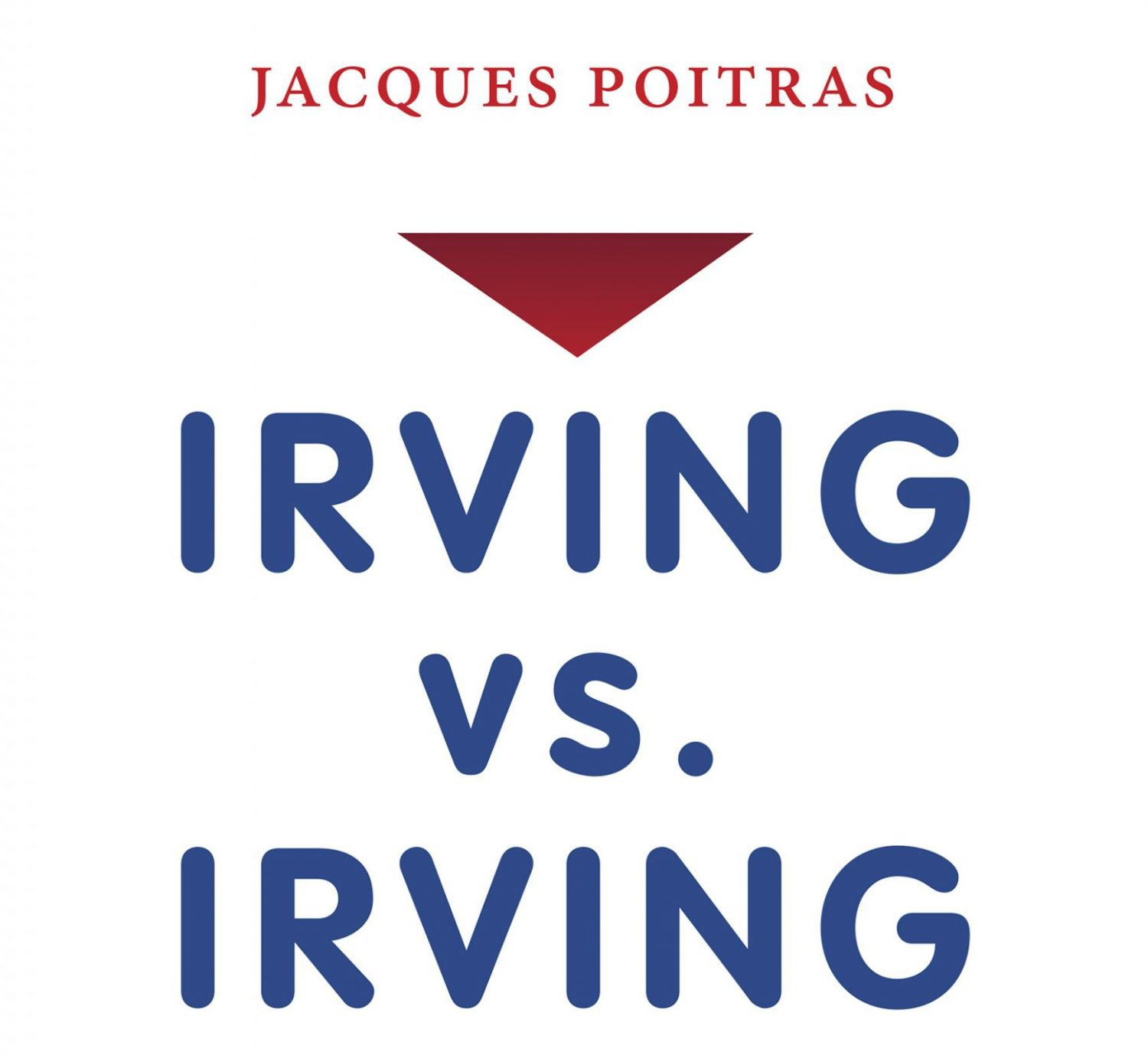 Jacques Poitras' book about the Irving family. Screenshot by J-Source.