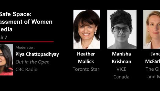 Live Blog: Harassment of Women in Media
