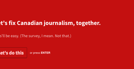 What's missing in Canadian journalism?