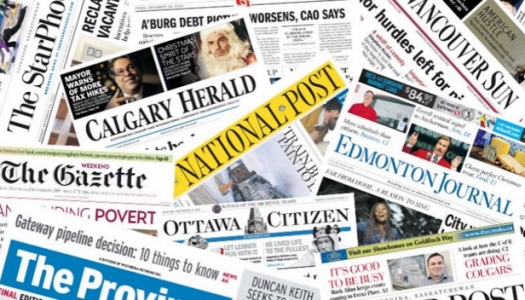 Postmedia reduces quarterly losses but revenue declines by 13.5 per cent