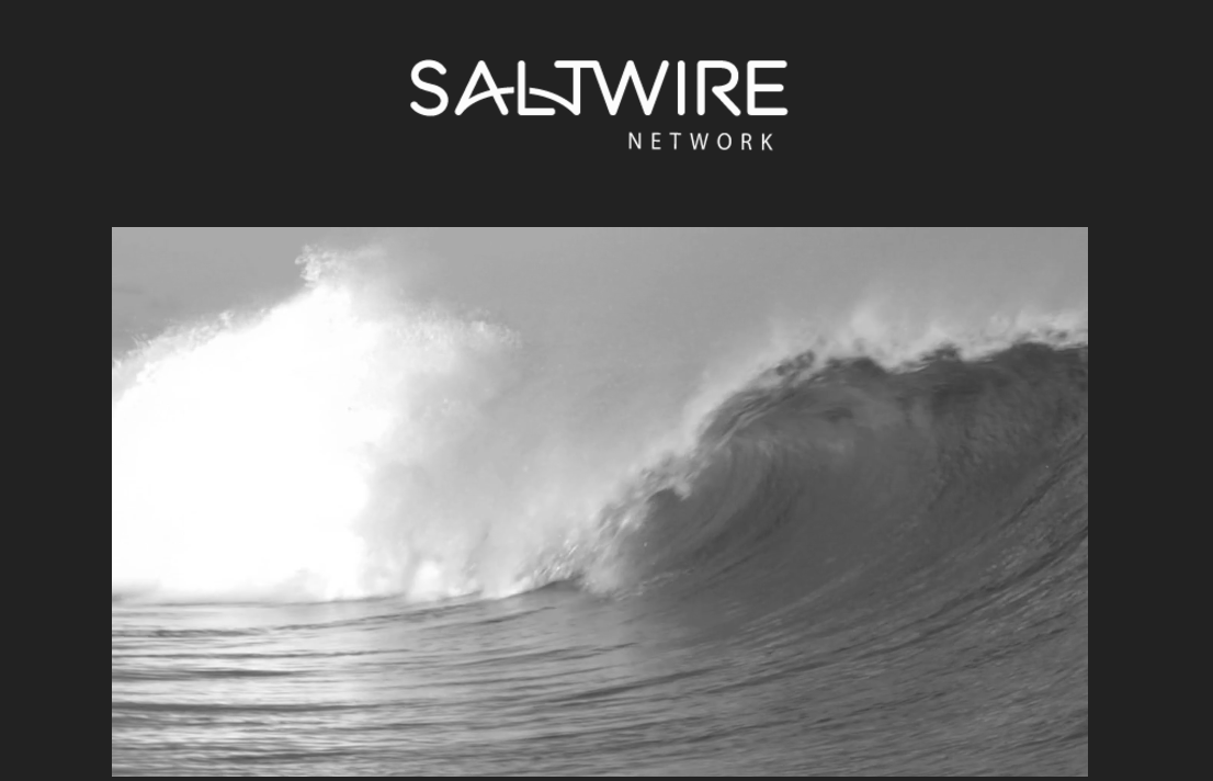 "The owners of the Chronicle Herald formed a new ownership group called SaltWire Network, derived from, ""combining the essential element of Salt, which represents the sea that surrounds us, and Wire, a tool that connects and binds."" Screenshot by J-Source."