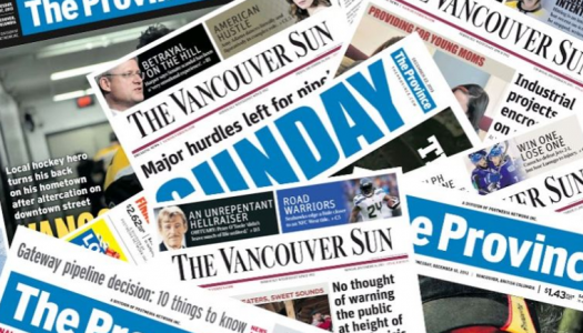 Union, Postmedia, strike deal to mitigate job losses at Vancouver Sun and Province