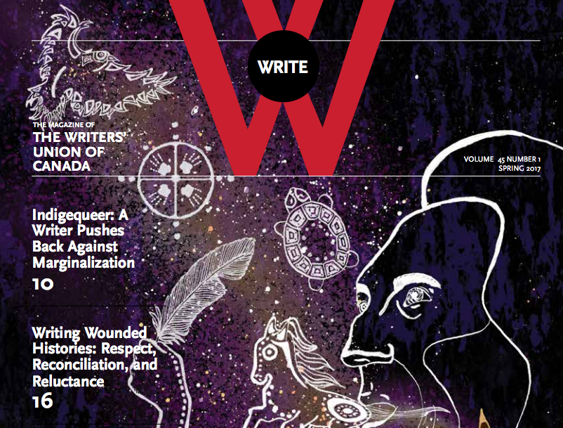The writers featured in the latest issue of Write Magazine deserve notice for their excellent work. Screenshot by J-Source.