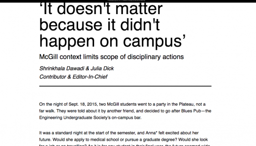 Student media is at the forefront of reporting on sexual assault on campus