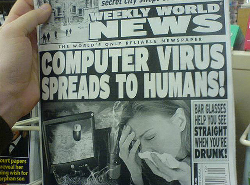 Fake news has always been with us and people have always made money from it. Image courtesy of Ted Rheingold/CC BY-NC 2.0.