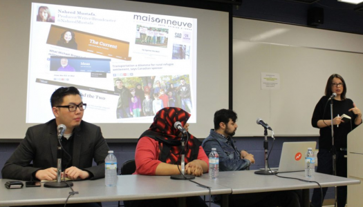 Muslim communities are telling new stories to break old stereotypes, say panelists